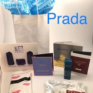 Prada & Mugler Men's & Women's Travel Set